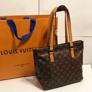 1e2426ab548a Louis Vuitton · Authentic Louis Vuitton Monogram Cabas Piano Bag